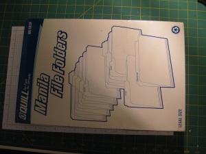 Legal sized file folders