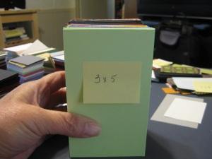 3x5 paper